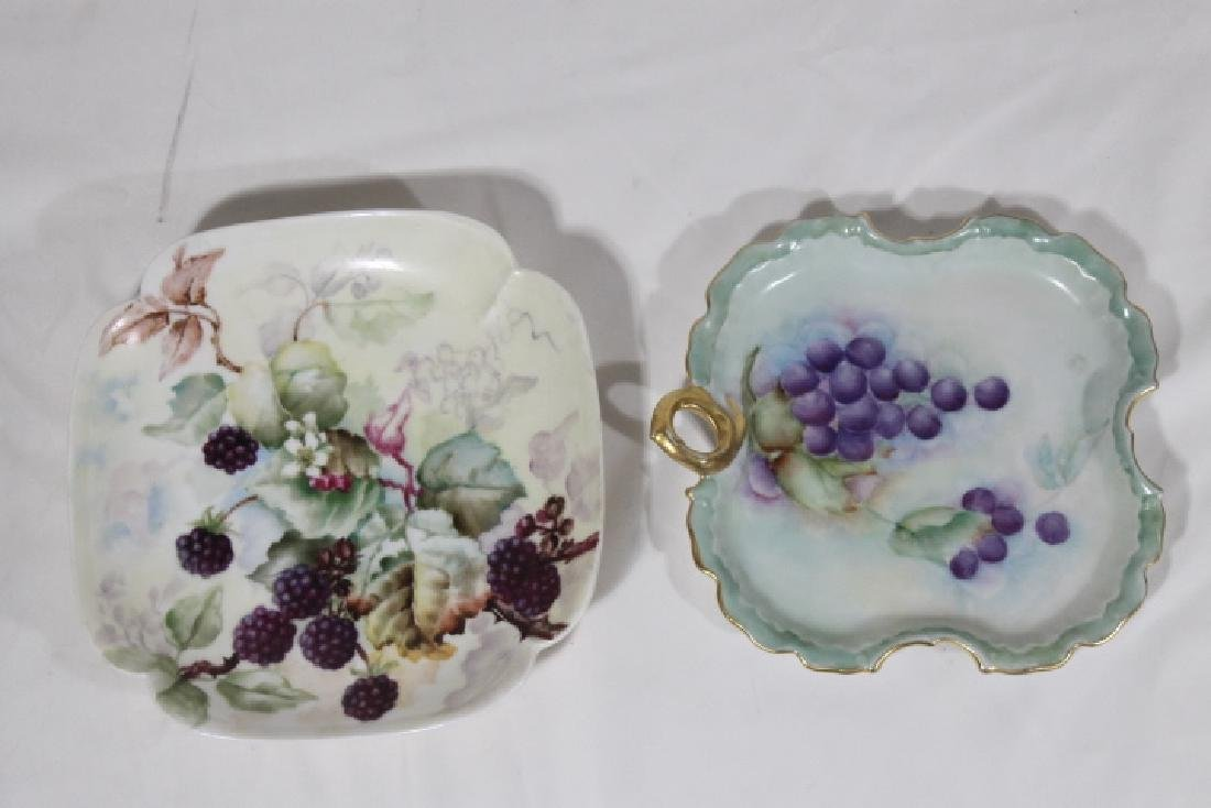 8 Pcs of Hand Ptd. Porcelain - 8