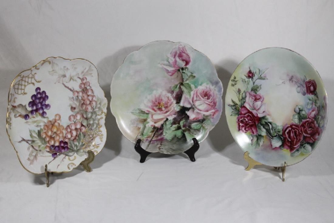 3 Porcelain Plates