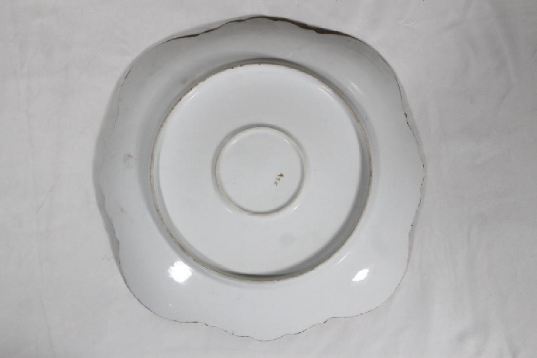 3 Porcelain Plates - 3
