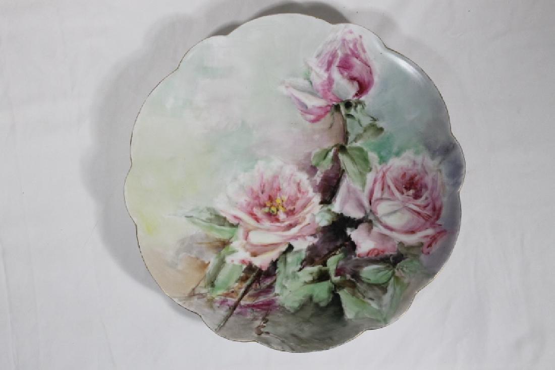 3 Porcelain Plates - 4