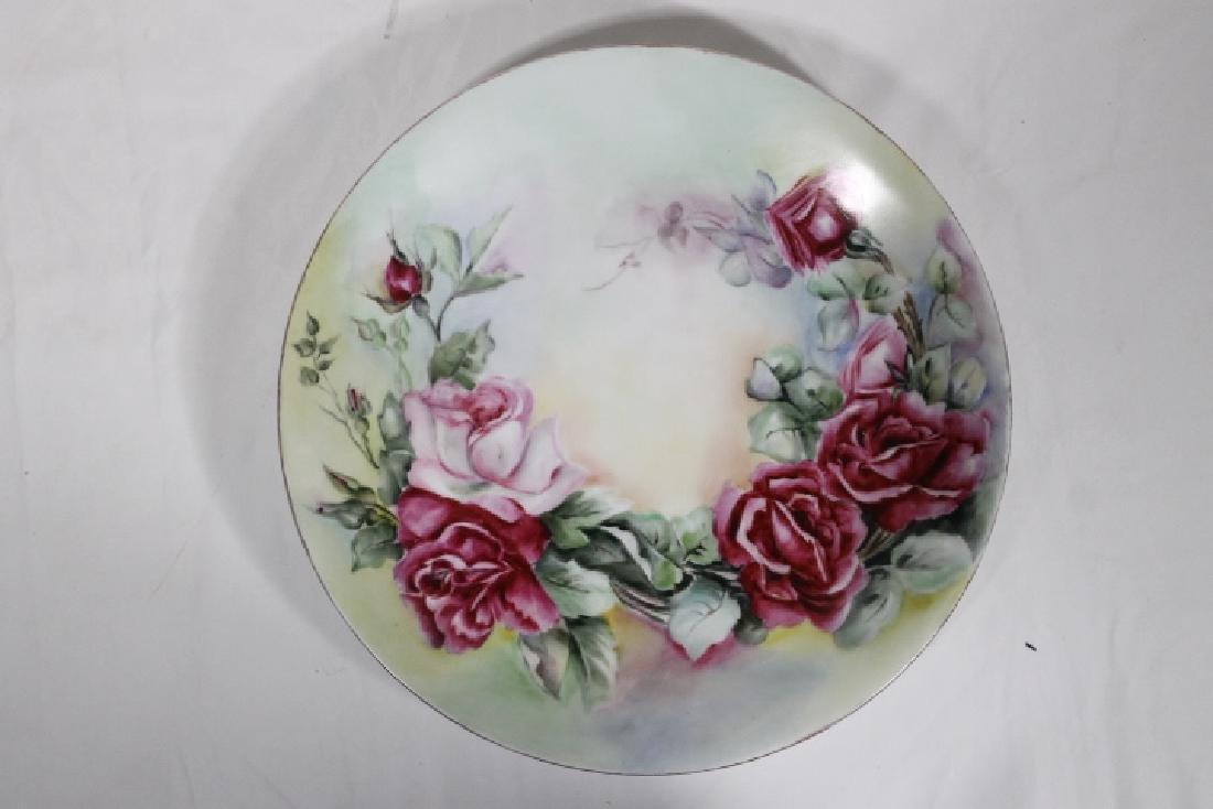 3 Porcelain Plates - 6