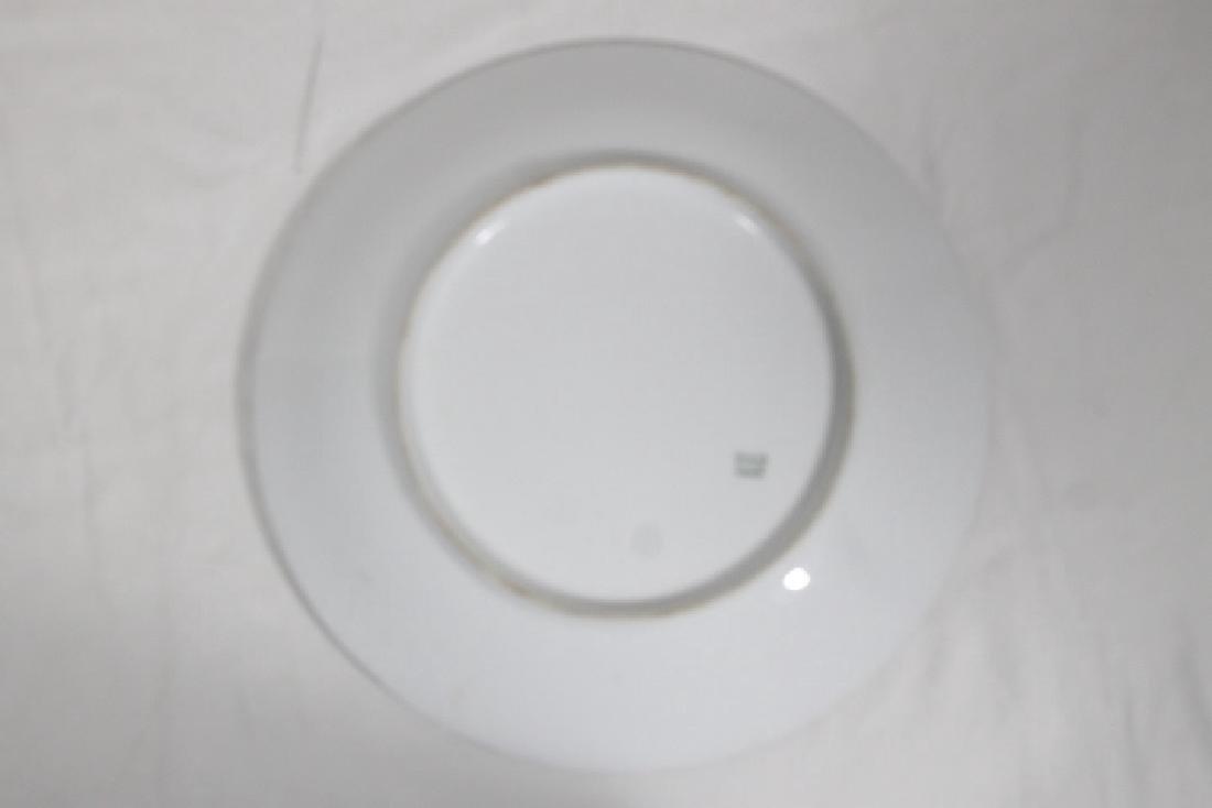 3 Porcelain Plates - 7