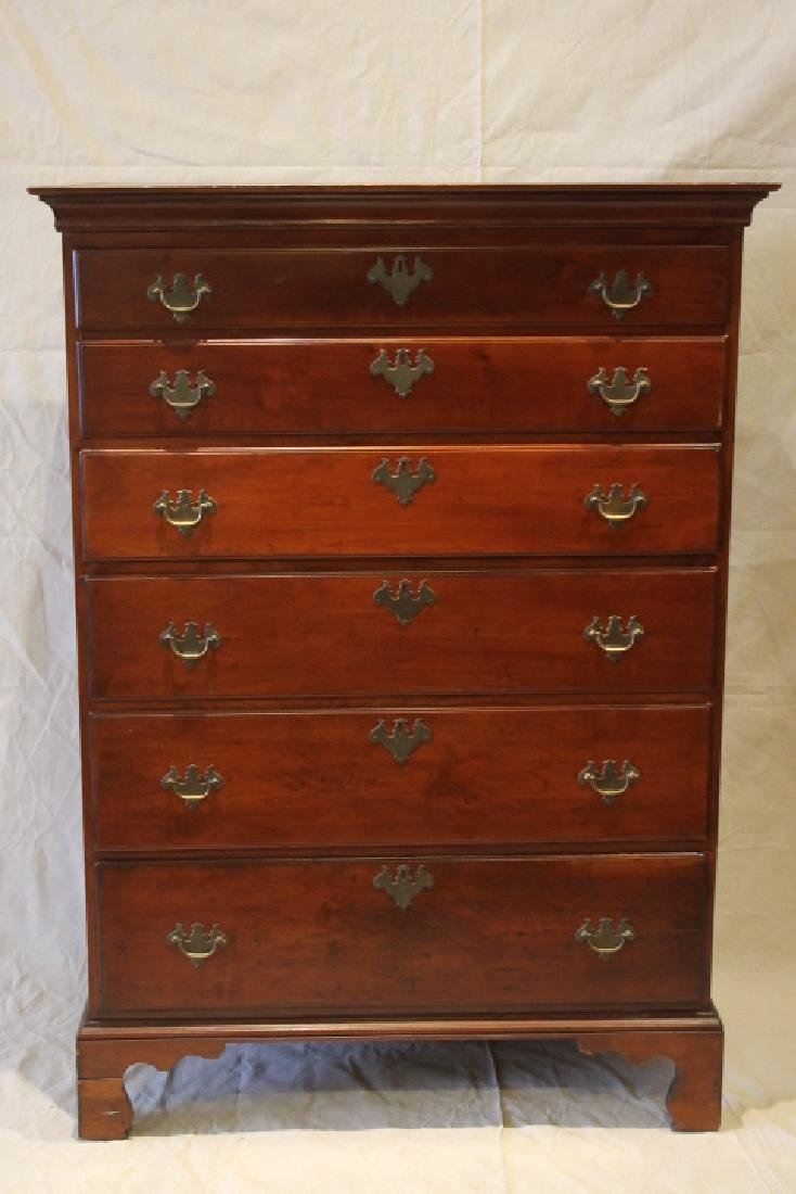 Chipendale, Tall Chest of Draws