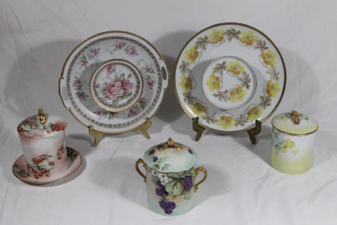 5 Assorted Porcelain Pcs