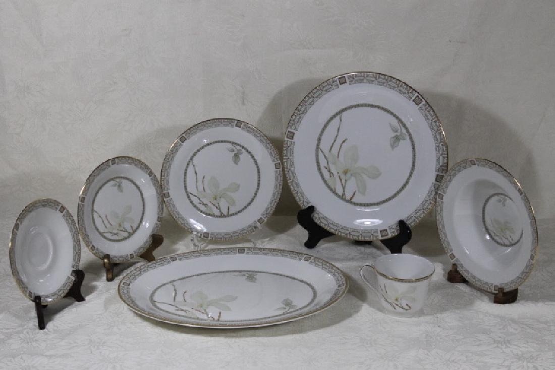 "70 Pc Set Royal Doulton ""Nile"" Pattern Porcelain - 2"