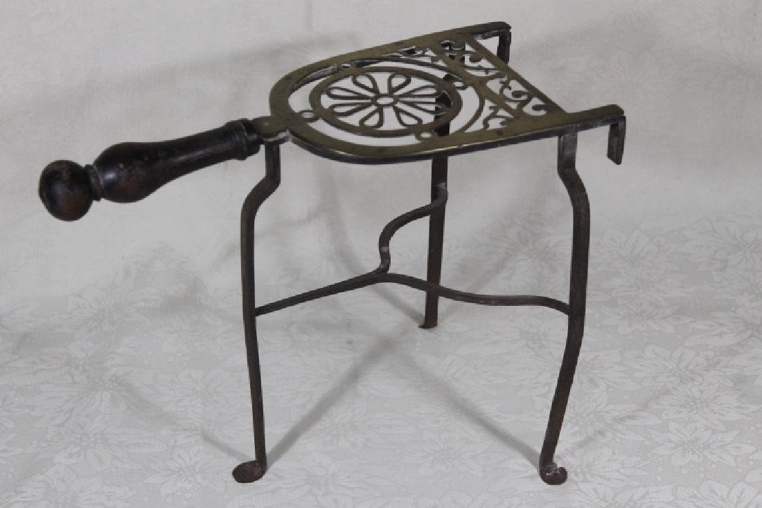 19th Century Fireplace Trivet