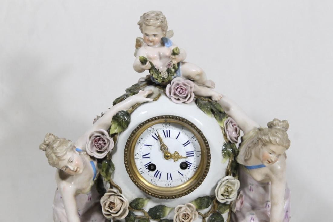 3 Pc Clock Garniture - 3