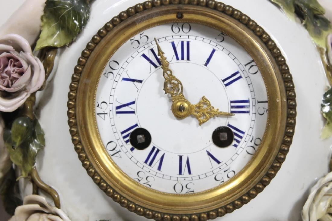 3 Pc Clock Garniture - 5
