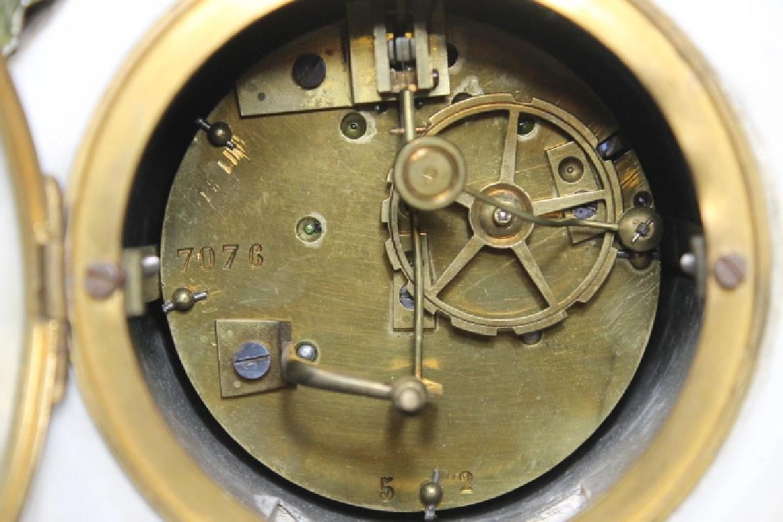 3 Pc Clock Garniture - 7