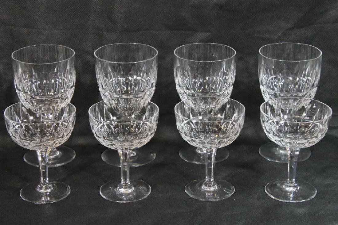 Set of 8 Stemware Glasses by Stuart