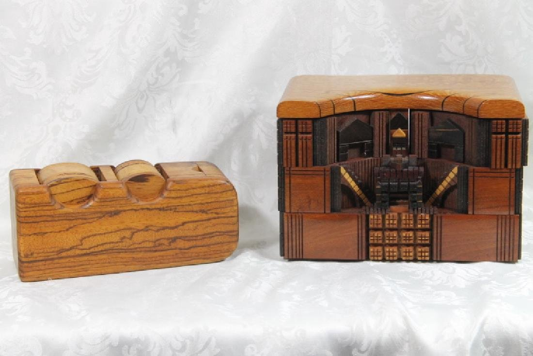 Puzzle Box by Po Shun Leong, 1992, & One