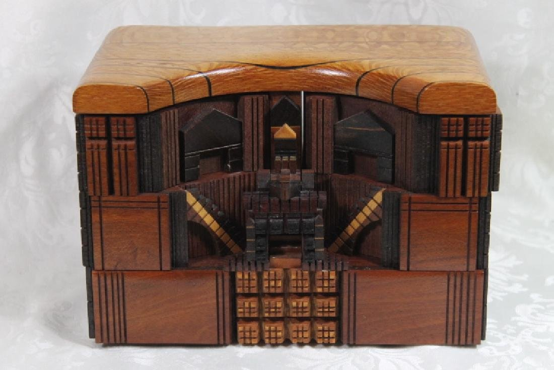 Puzzle Box by Po Shun Leong, 1992, & One - 2