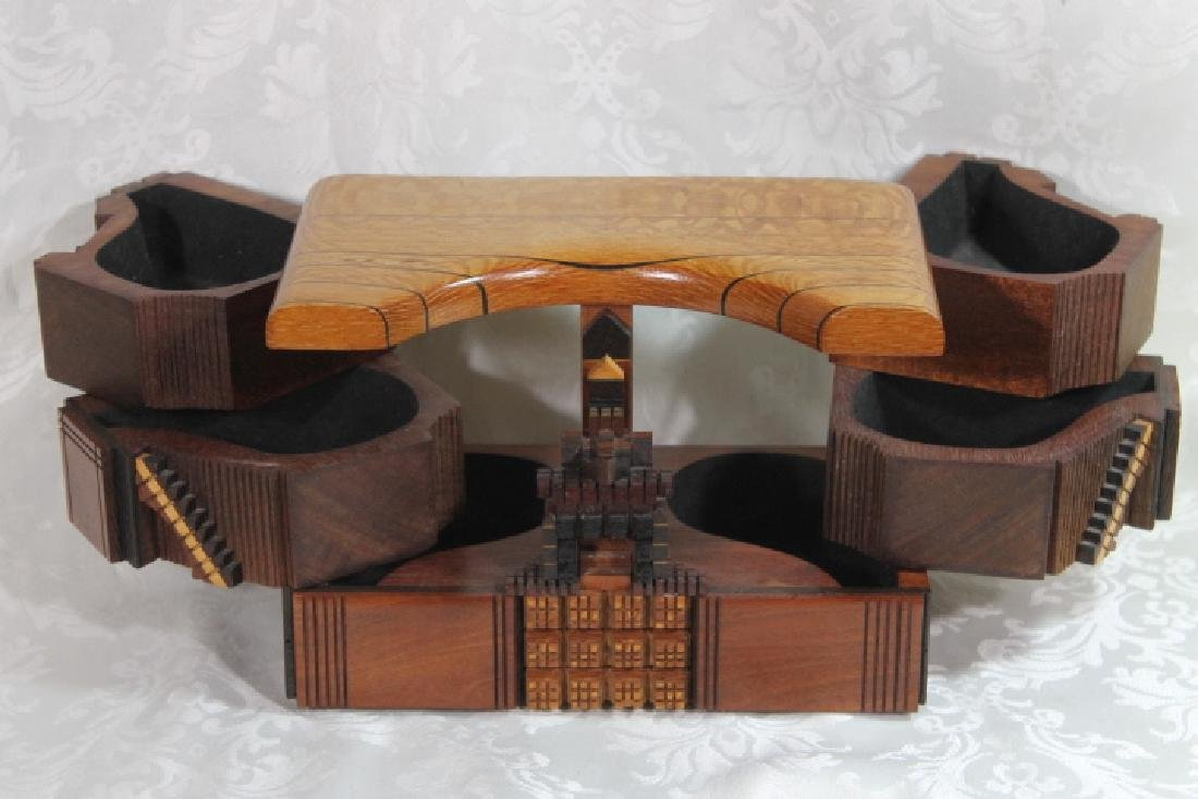 Puzzle Box by Po Shun Leong, 1992, & One - 3