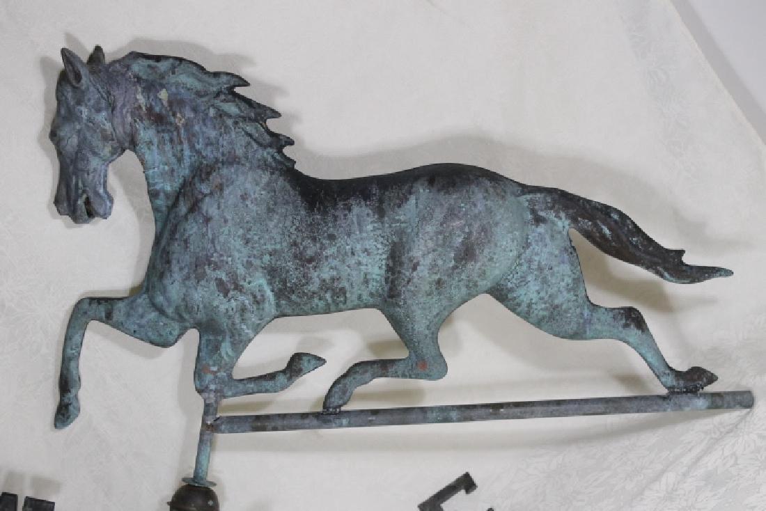 Three Dimensional Horse Weathervane