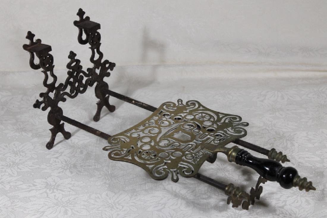 19th Century Footed Trivet