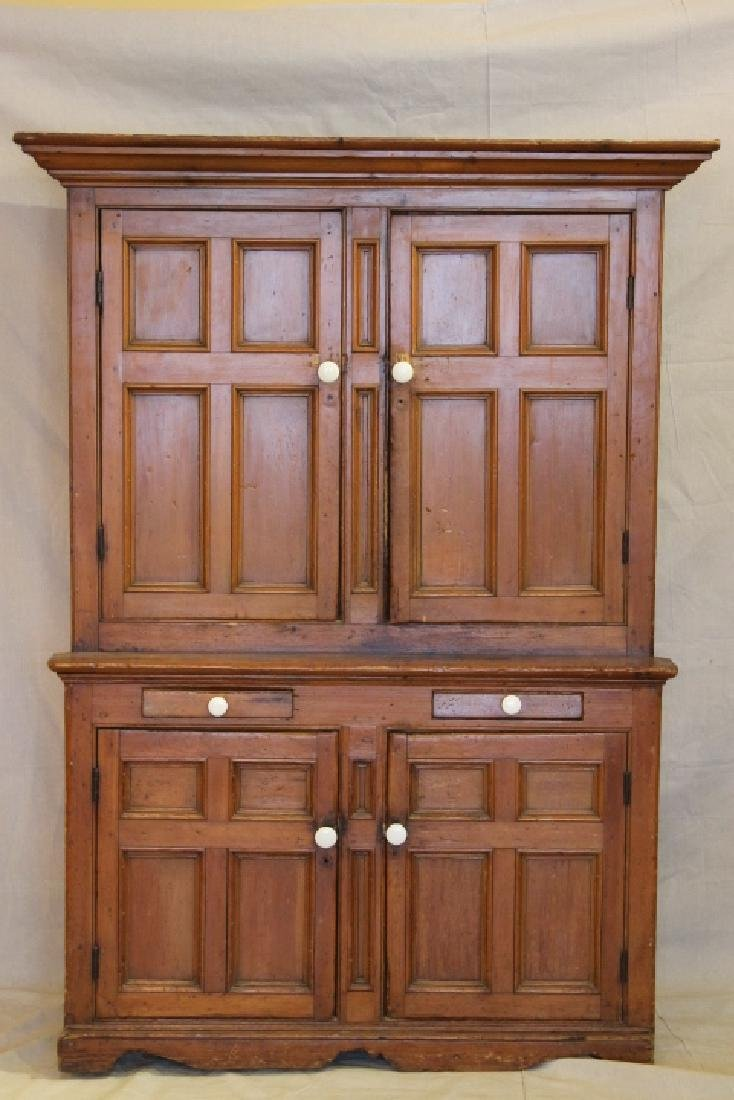 Early 19th Century Pine Cupboard