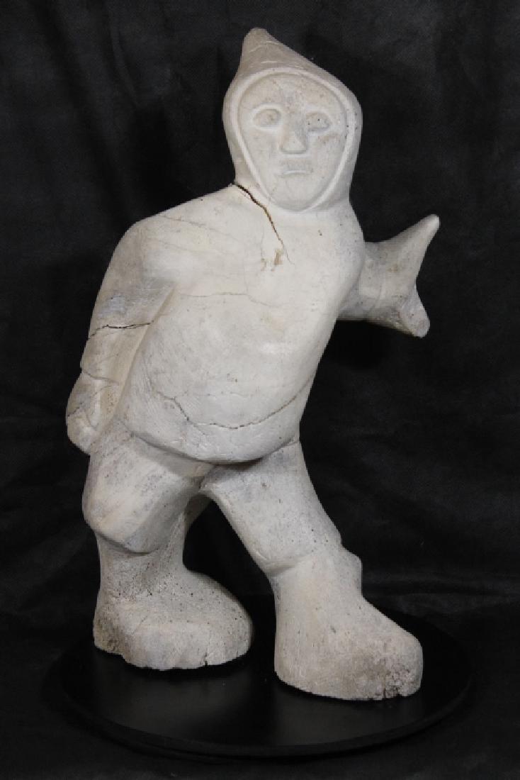 Inuit Whalebone Sculpture - 2