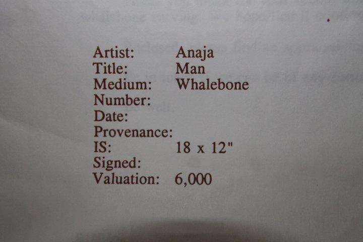 Inuit Whalebone Sculpture - 7