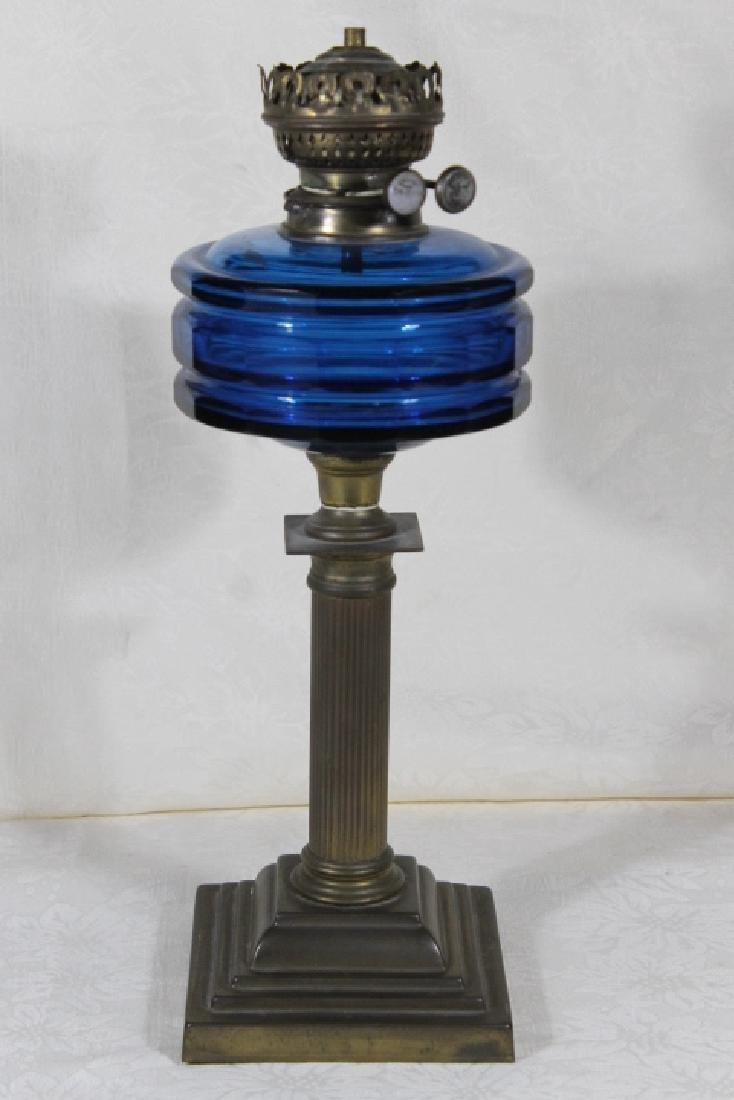 Evereds, England Duplex Oil Lamp