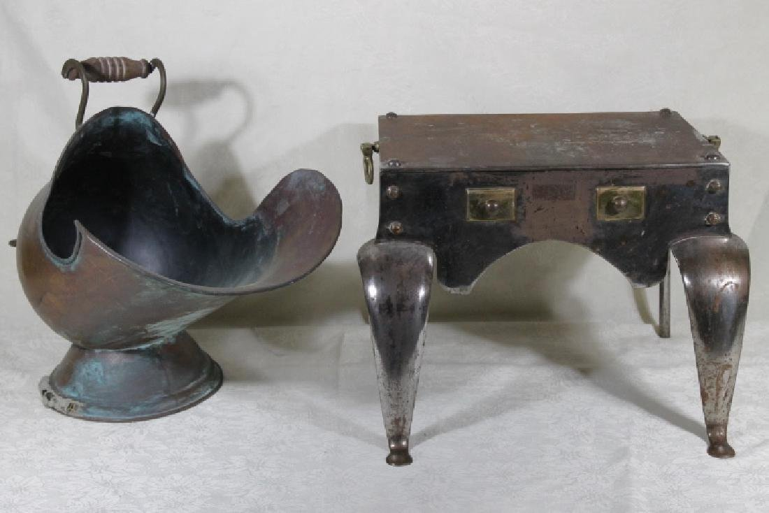 Two Fireplace Implements