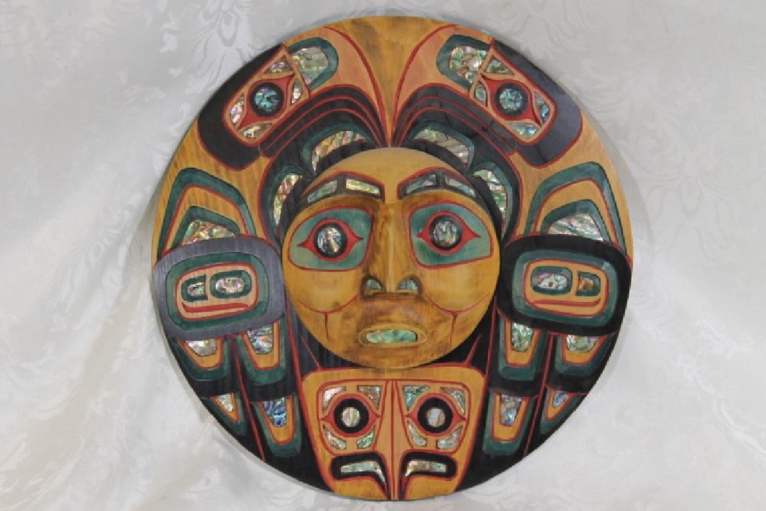 Jacob Bill Lewis [Squamish Tribe] Carving
