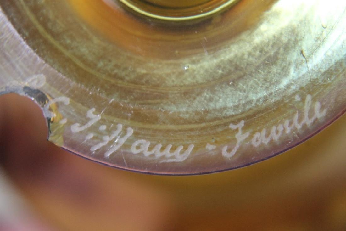 L.C Tiffany Favrille Glass - 2