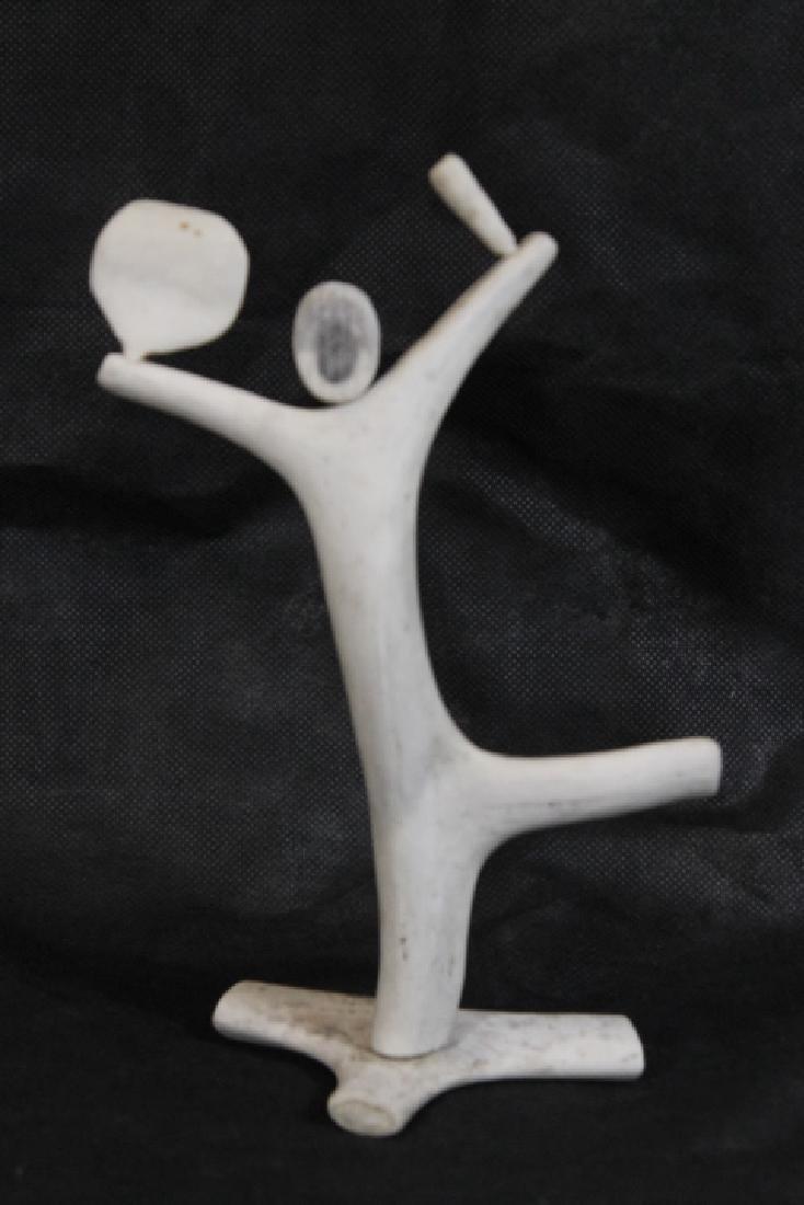 Bone Carving, by Leo Irkok, [Inuit] - 2