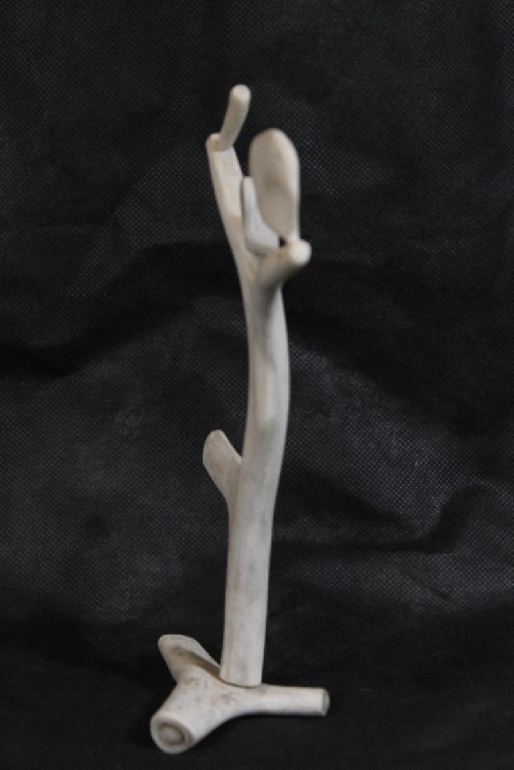 Bone Carving, by Leo Irkok, [Inuit] - 3