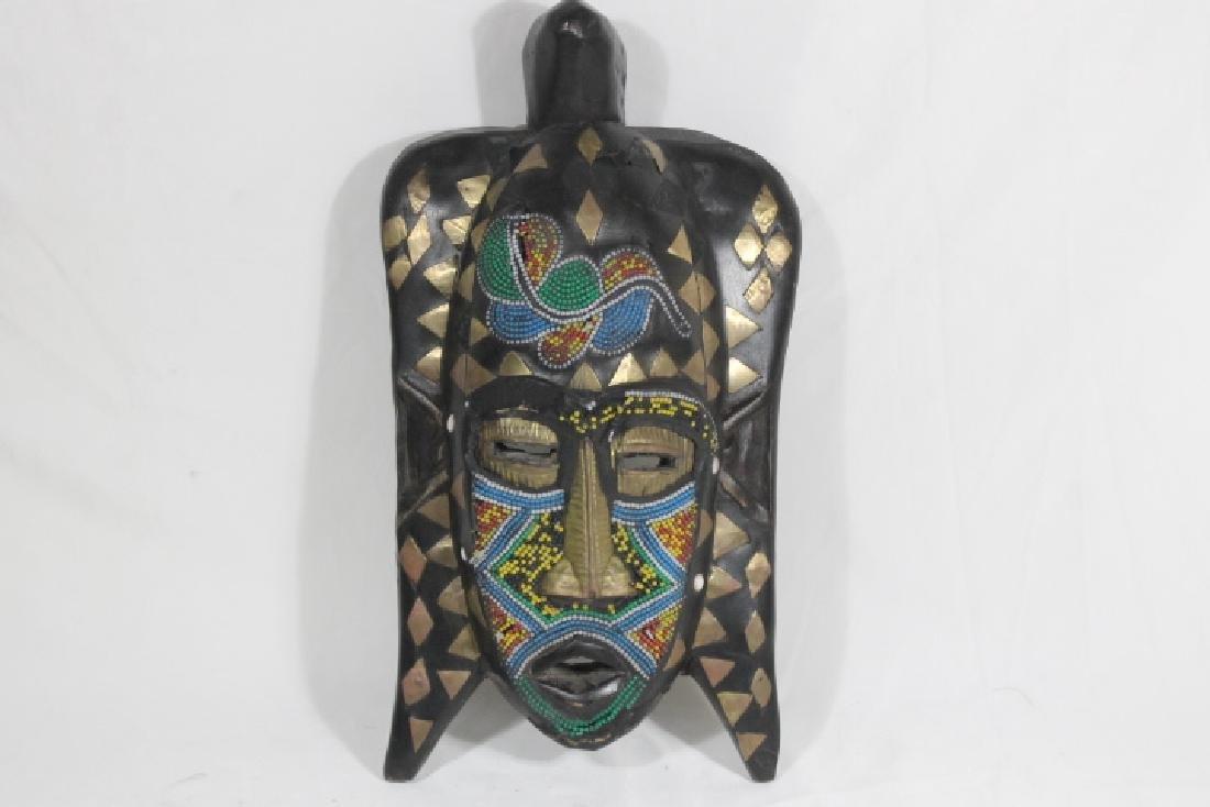 2 African Masks - 3