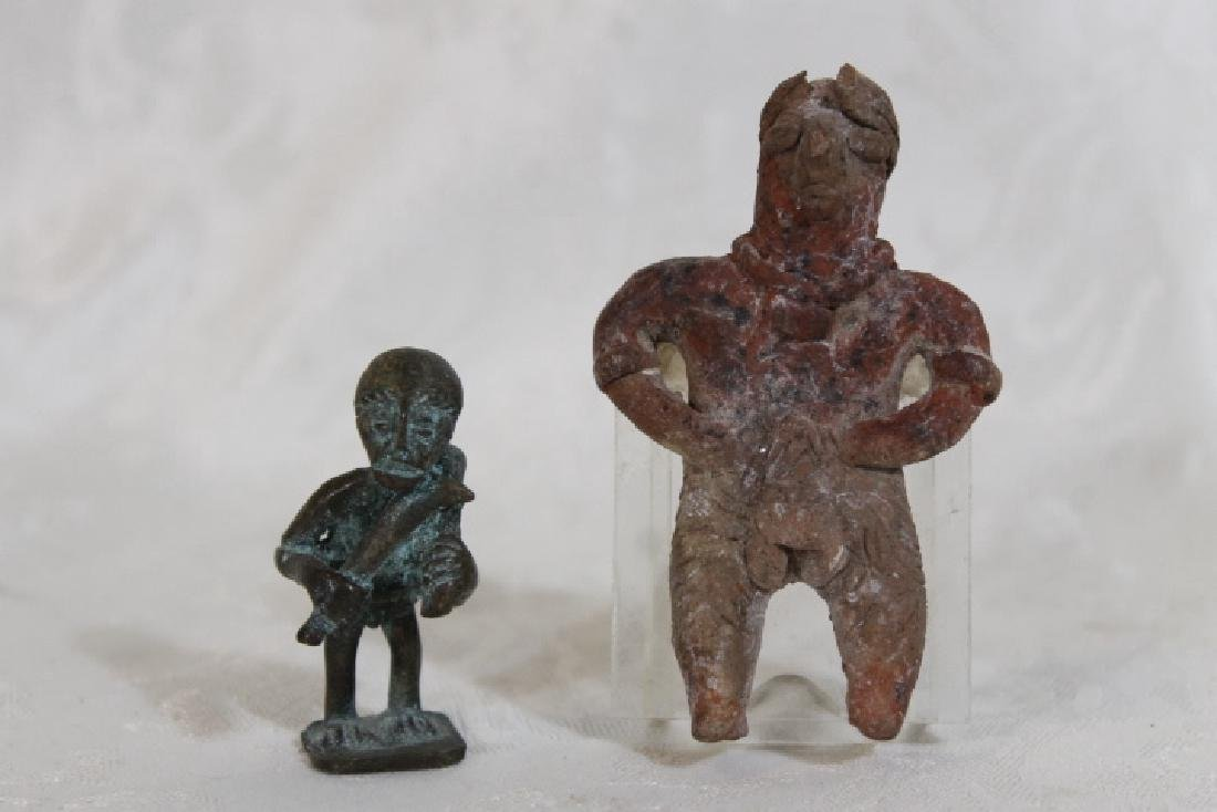 Two Small Effigy Figures
