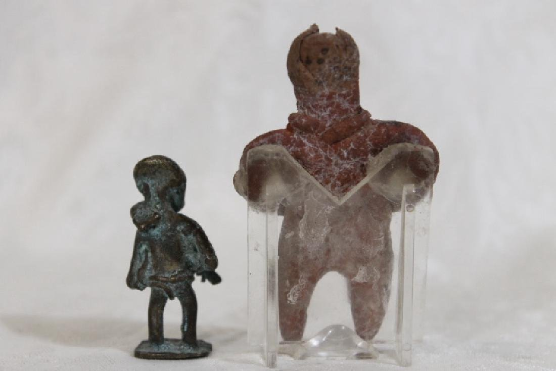Two Small Effigy Figures - 2