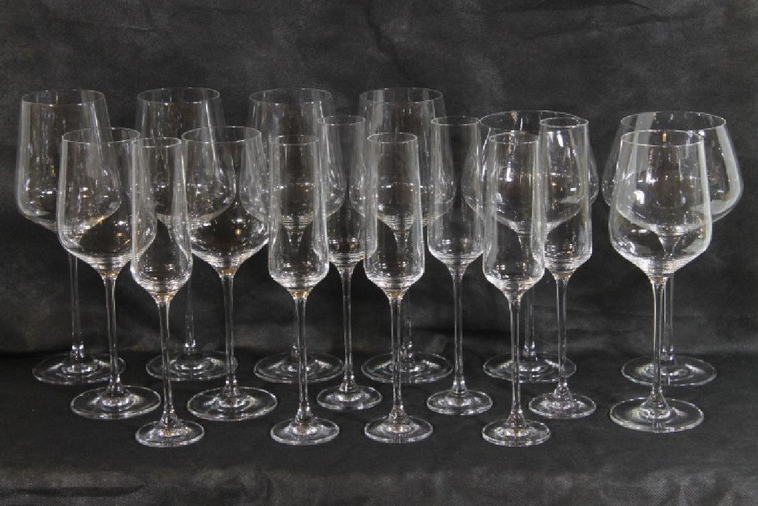 16 Pcs of Stemware, Signed