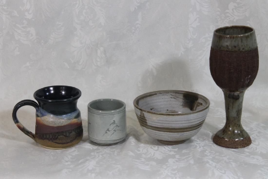 Seven Pottery Pcs - 6