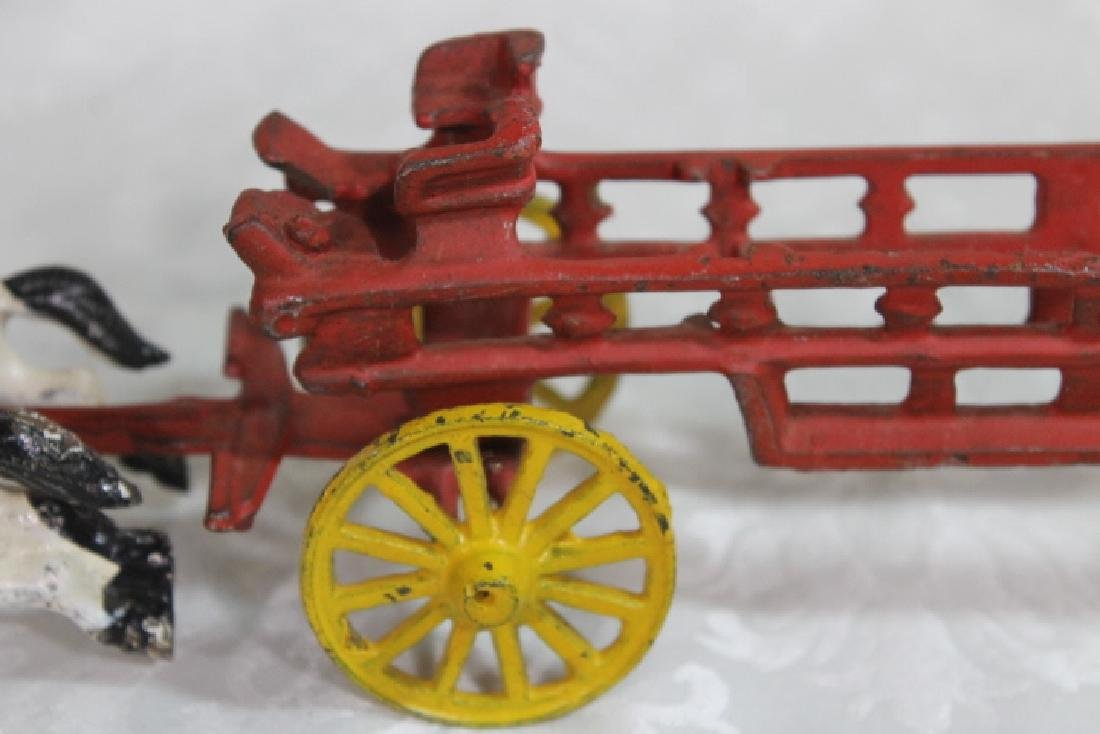 Vintage Fire Wagon - 3