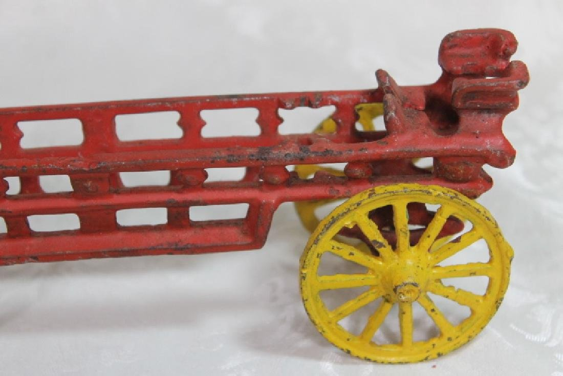 Vintage Fire Wagon - 4