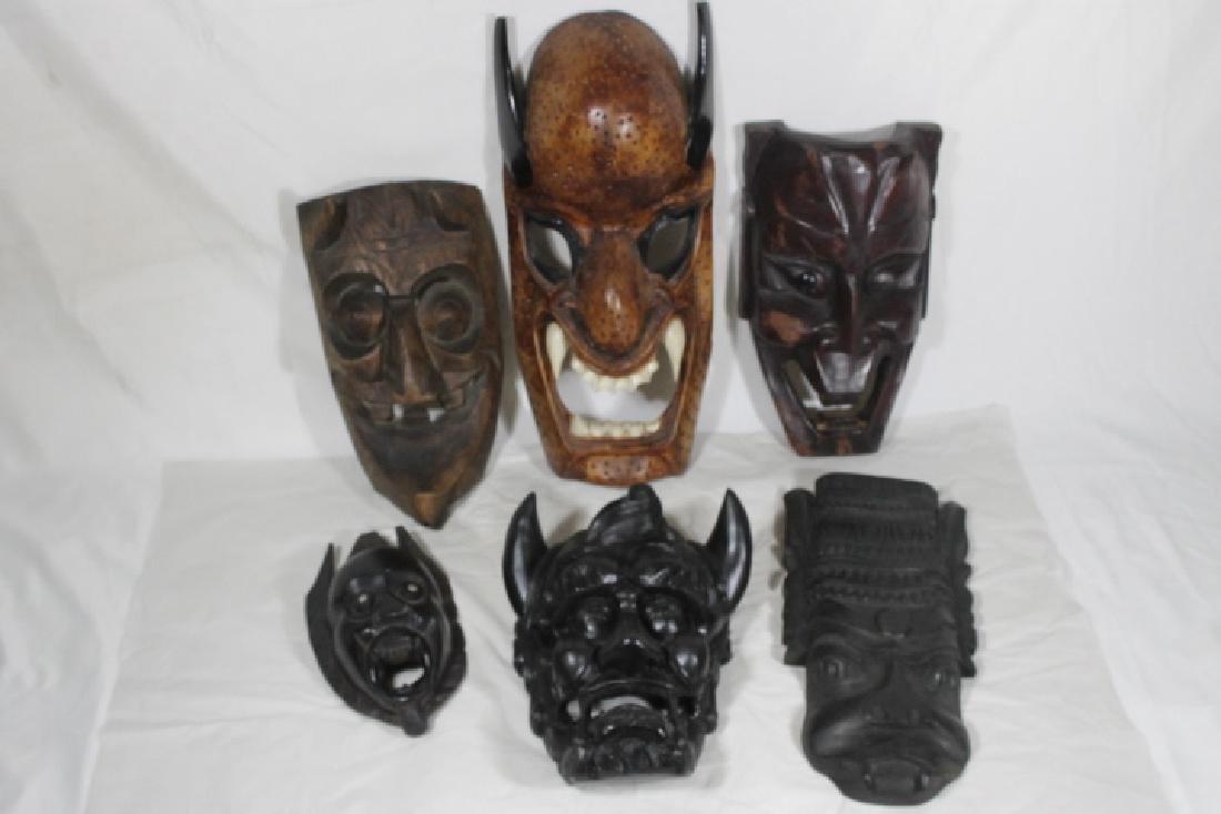 6 Devil Masks