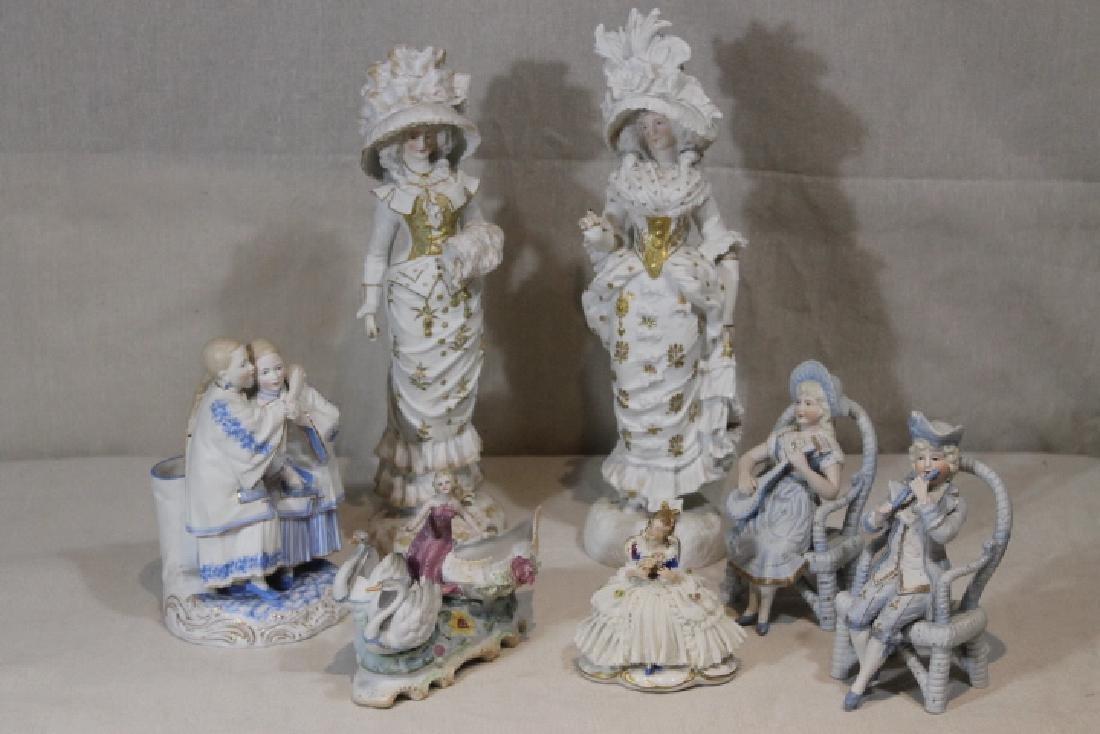 7 Porcelain Pcs