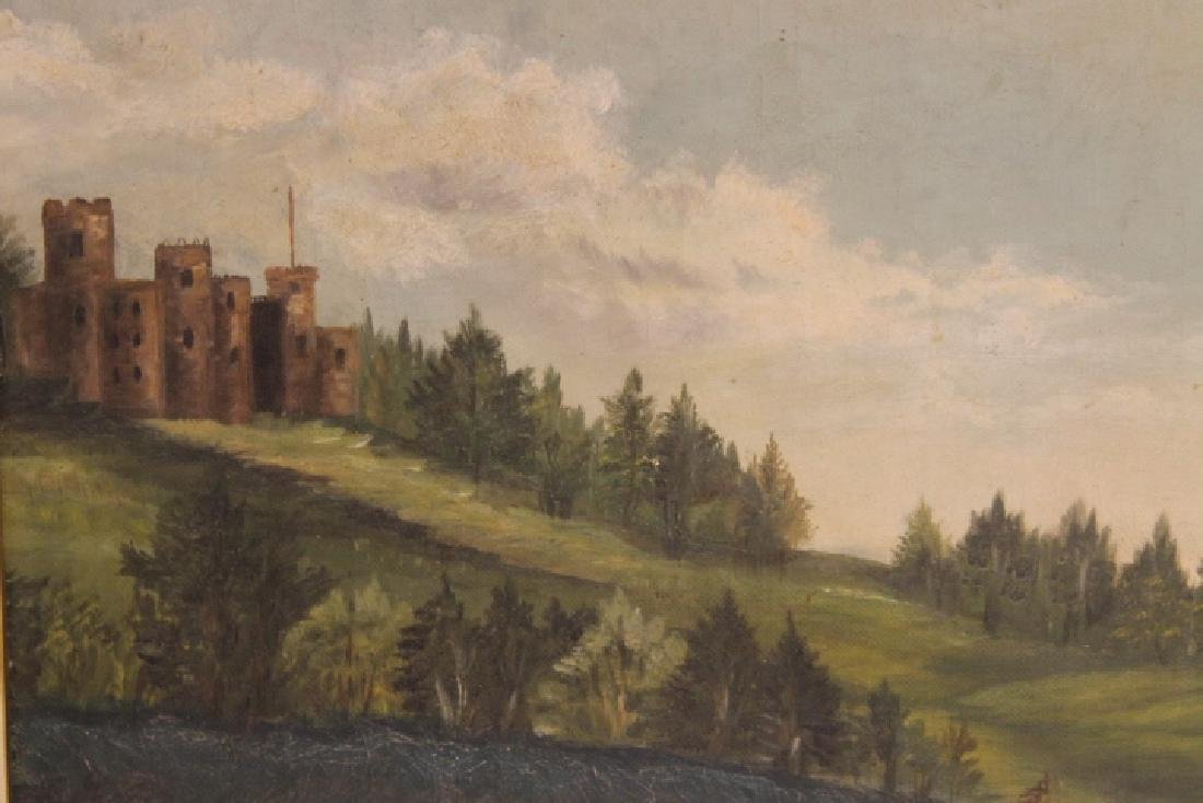 Unsigned Victorian Oil On Canvas - 2