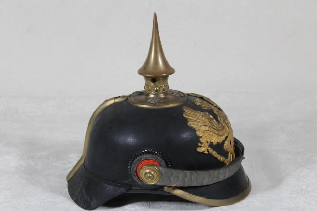 "Prussian ""Picklehaube"" Helmut, & Iron Cross - 2"