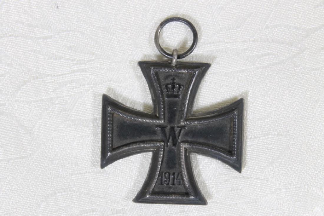 "Prussian ""Picklehaube"" Helmut, & Iron Cross - 7"