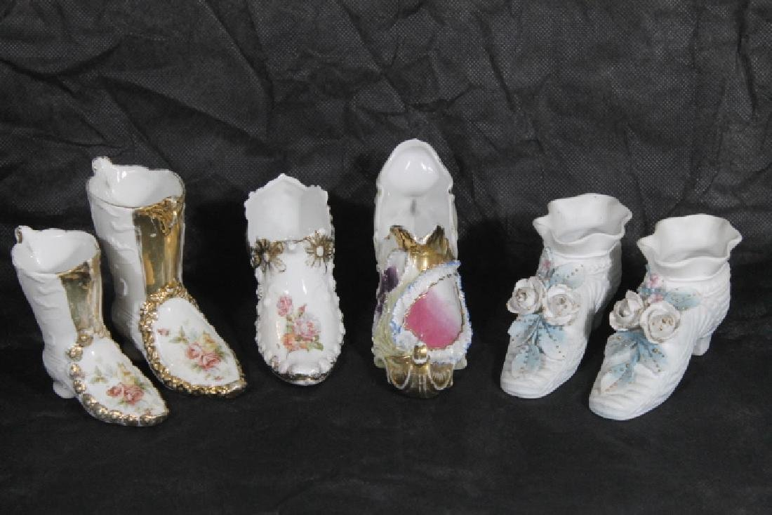 6 Porcelain Shoes