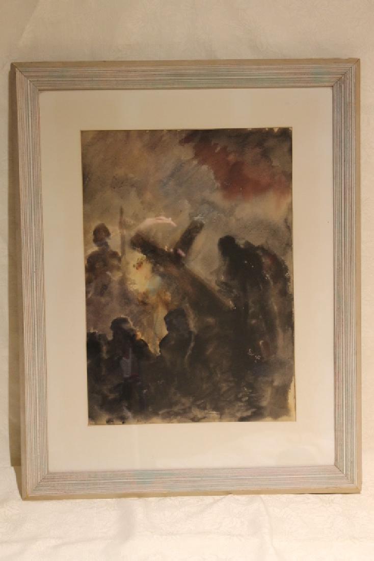 Francis Joseph Gyra, Watercolor 1938