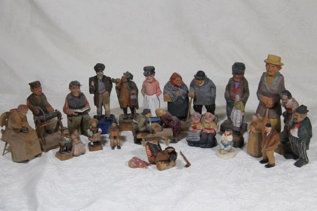 Twenty Two assorted Figures