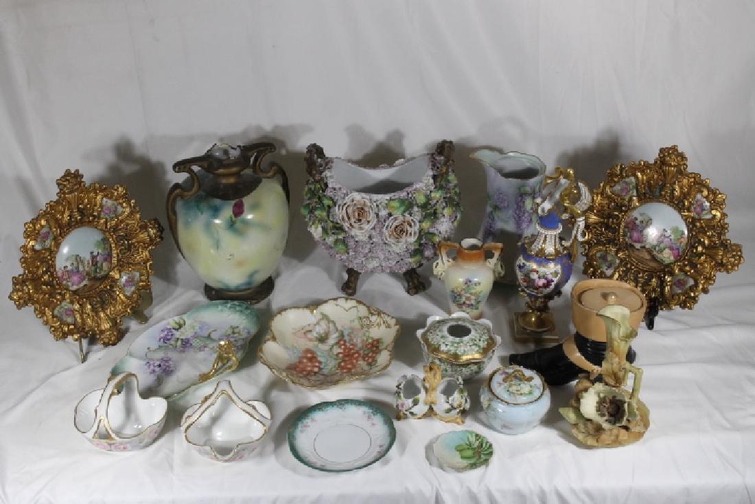 18 pcs of porcelain