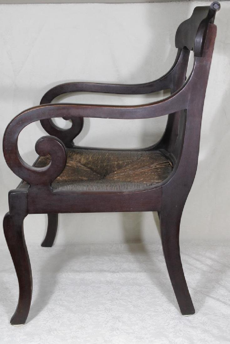 Empire Style Arm Chair - 2
