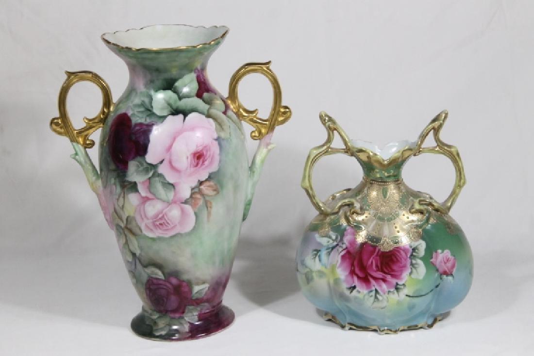 2 Porcelain Vases