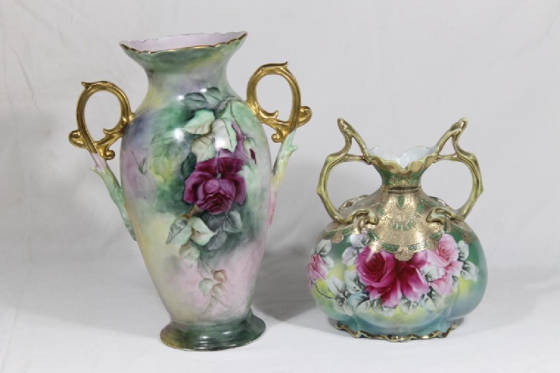 2 Porcelain Vases - 2