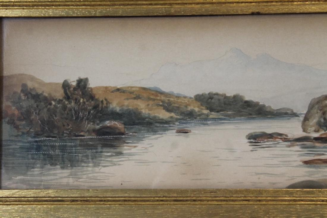 Watercolor, Signed W. King - 7