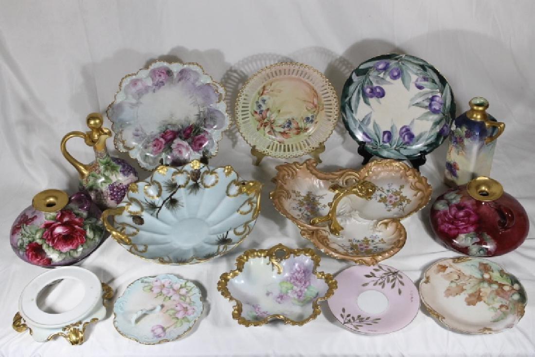 14 Pcs. Porcelain