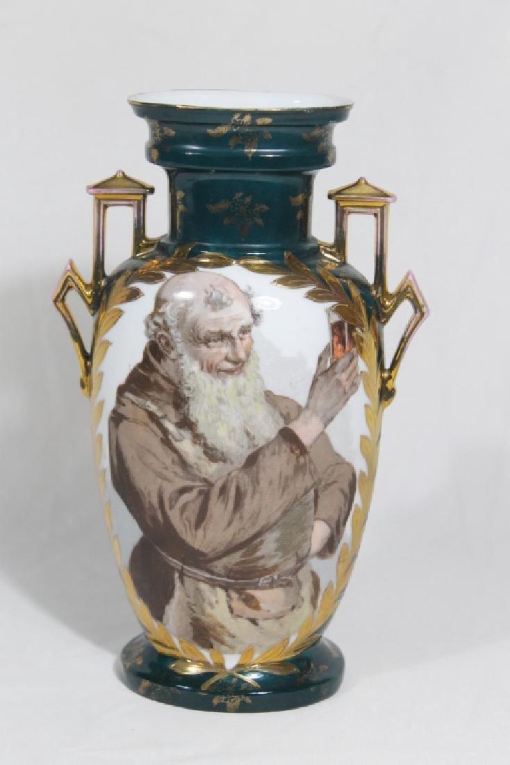 Hd Ptd Austrian Vase
